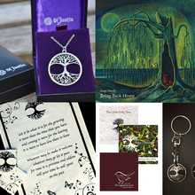 Christmas Offer 3: Bring Back Home + Necklace + Tea Towel + Key Ring + Choice of Christmas Single