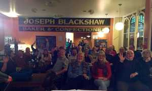 A 'Roots & Fusion' sold out crowd at Blackshaw's!