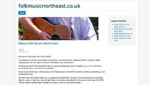 www.folkmusicnortheast.co.uk