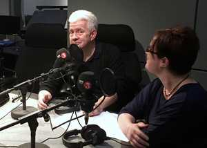 BBC Radio: The Verb session and chat with Ian McMillan